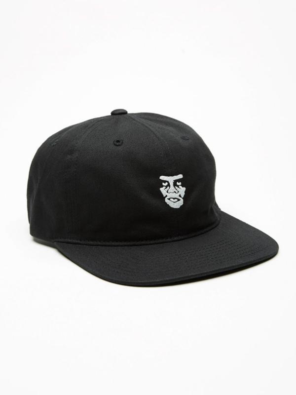 Obey Creeper 6 Panel Cap (black)