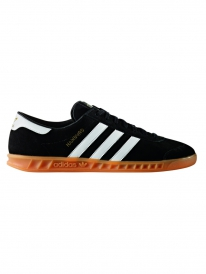 Adidas Hamburg (core black/running white/gum2)