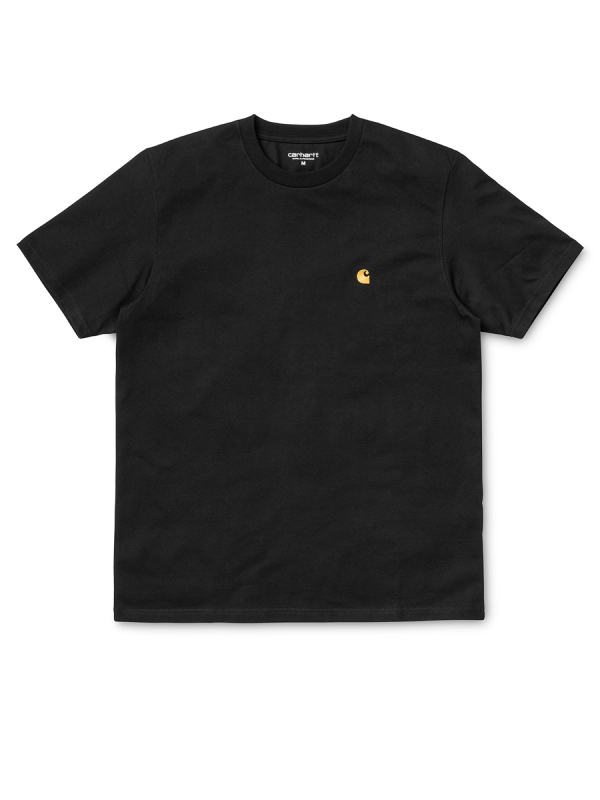 Carhartt Chase T-Shirt (black/gold)