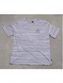 Huf Triple Triangle Streaky T-Shirt (heather white)