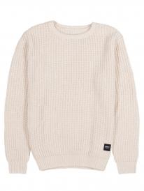 Wemoto Delton Strick Sweater (sand melange)