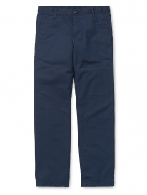 Carhartt Station Pant (navy rinsed)