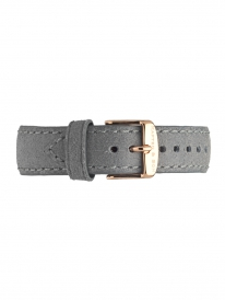 Kapten & Son Leather Strap Grey Vintage (grau)