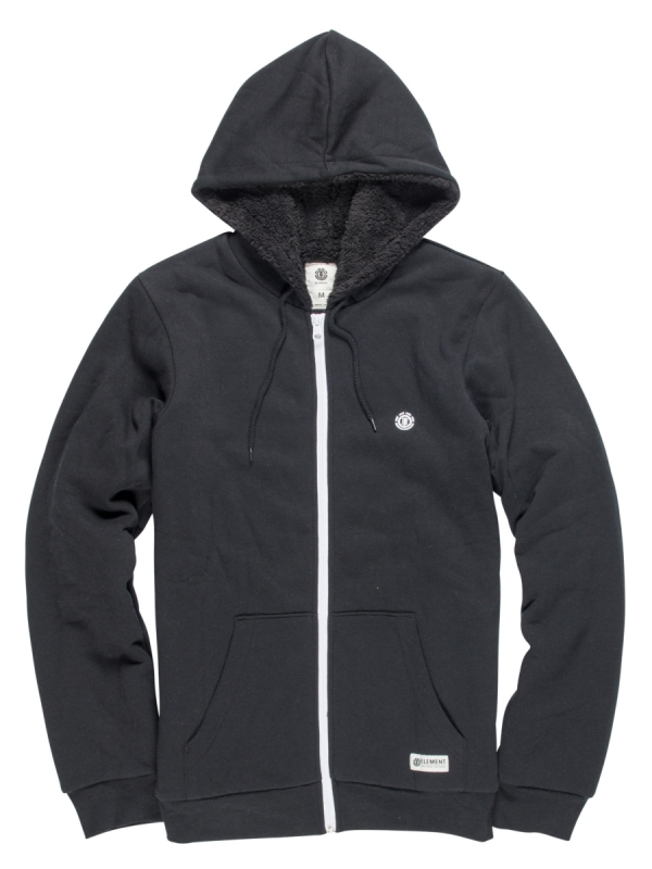 Element Bolton Zip Hoodie (flint black)
