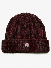 Obey Rose Hill Beanie (burgundy multi)