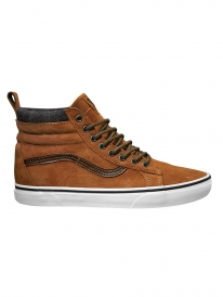 Vans Sk8-Hi MTE (glazed ginger/plaid)