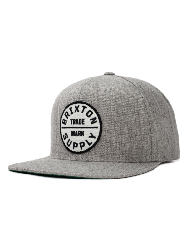 Brixton Oath 3 Cap (light heather grey)