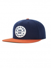 Brixton Oath 3 Cap (navy/copper)