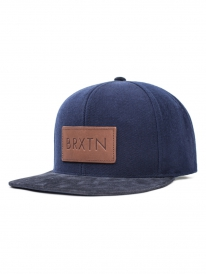 Brixton Rift Cap (navy/brown)