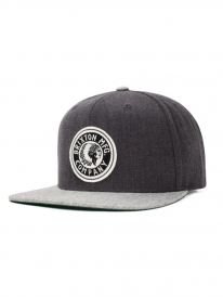 Brixton Rival Cap (light grey heather/charcoal heather)