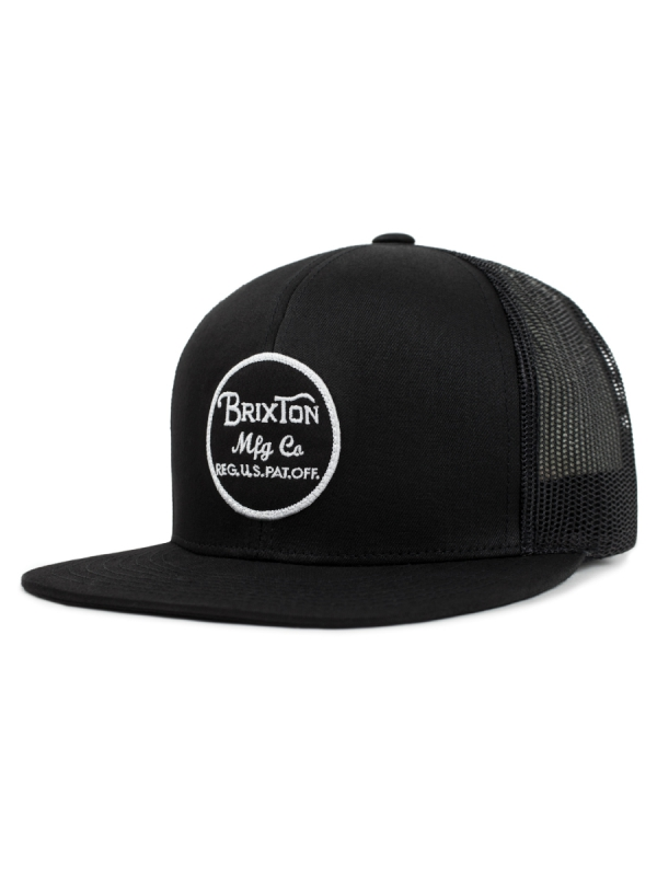 Brixton Wheeler Mesh Cap (black/black)