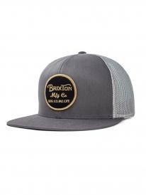 Brixton Wheeler Mesh Cap (grey/black)