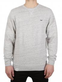 Iriedaily Chamisso Flag Sweater (grey melange)