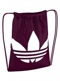 Adidas Trefoil Gymsac (collegiate burgundy/white)