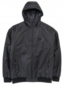 Cleptomanicx Polarzipper Hemp 2 Winter Jacke (black)