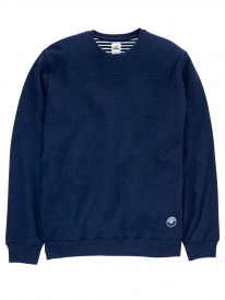 Cleptomanicx Woozer Sweater (heather dark navy)