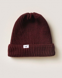 Cleptomanicx Storm Beanie (windsor wine)