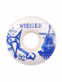 Bones Wheels STF V1 Wieger Windmill Rollen 50mm 83B (white) 4er Satz