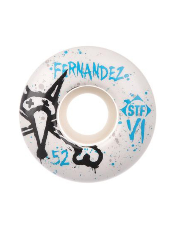Bones Wheels STF Fernandez Team Vato V1 Rolle 50mm 83B (white) 4er Satz