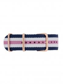Kapten & Son Girl Nylon Strap (blau/rosa/weiß)