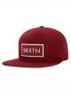 Brixton Rift Cap (burgundy/white)