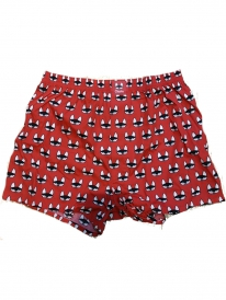 Cleptomanicx Beginner Boxershorts (red)