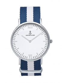 Kapten & Son Campina Sail Nylon (white/silver)