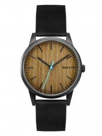 TAS Huck Holz Uhr (Walnuss)