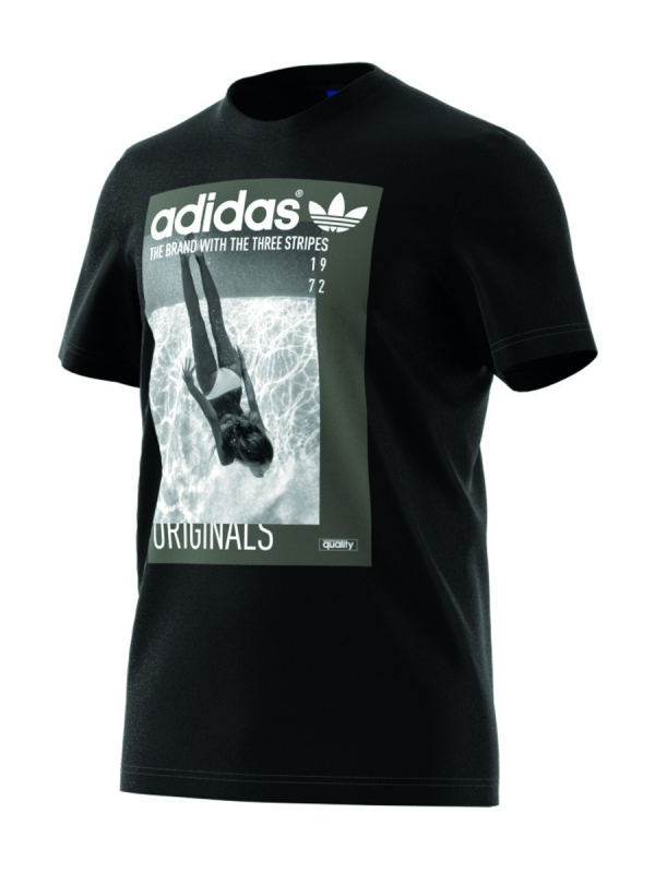 Adidas Girl T-Shirt (black)