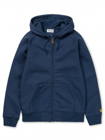 Carhartt Chase Zip Hoodie (blue/gold)