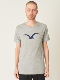 Cleptomanicx Vintage Möwe T-Shirt (vintage gray)