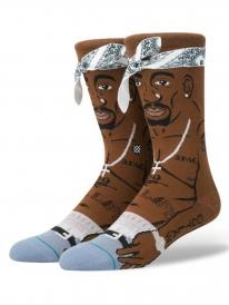 Stance Tupac Socken (brown)