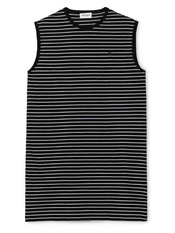 Carhartt WIP Cullen Kleid (black/white)