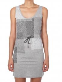 Iriedaily Geometric Dress (grey melange)