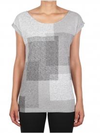 Iriedaily Geometric T-Shirt (grey melange)