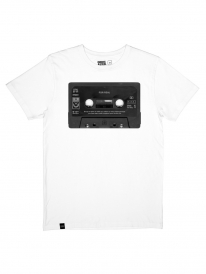 Dedicated For Real Tape T-Shirt (white)