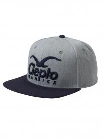 Cleptomanicx Super CI Cap (heather grey)