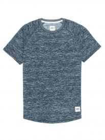 Wemoto Derby T-Shirt (blue melange)