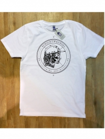 Schichtwechsel Stadtindianer T-Shirt (white)