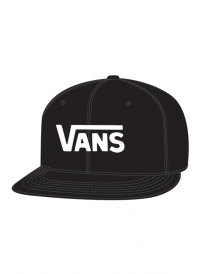 Vans Drop V Cap (black/white)