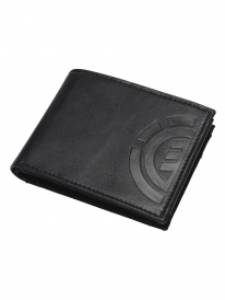 Element Daily Leather Wallet (black)