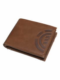 Element Daily Leather Wallet (brown)