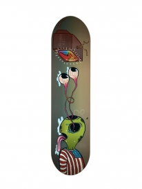 Toy Machine Romero Buggin Out Deck 8.25 Inch (multicolored)