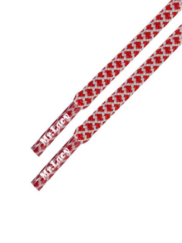 Mr. Lacy Ropies Schnürsenkel 130cm (red-white)