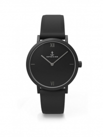 Kapten & Son Pure Nox Uhr (black)