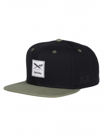 Iriedaily Daily Contra Cap (black/olive)