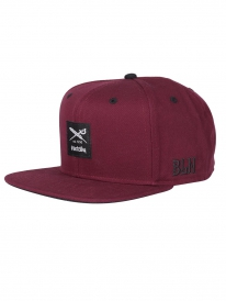 Iriedaily Daily Flag 2 Cap (red wine)