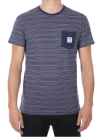 Iriedaily Grand Pocket T-Shirt (navy melange)
