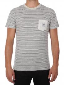 Iriedaily Grand Pocket T-Shirt (ecru melange)
