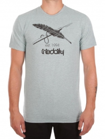 Iriedaily Harpoon Flag T-Shirt (mintgrey)